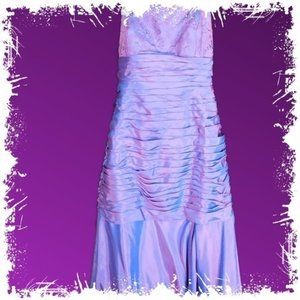 NWT Jade By Jasmine Purple Shimmer Evening Gown 6